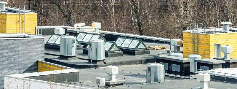 Photo of an Austin commercial roof